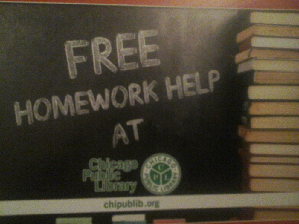 Free Homework Help At Chicago Public Library